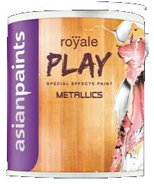 Asian Paints Royale Play Metallics