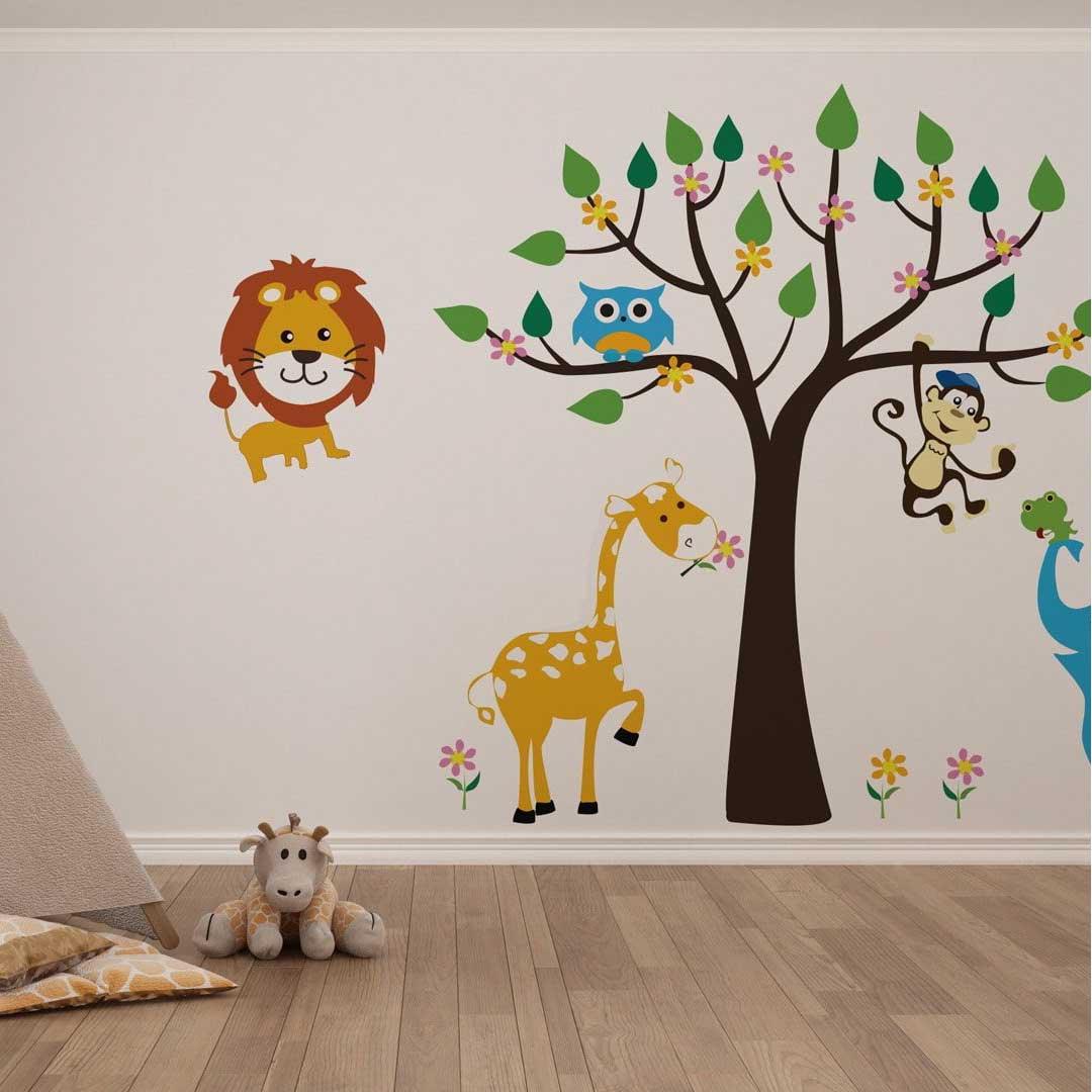 kids room stencil design