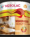 Nerolac Texture Paints Wonderwood 2K PU Crystal Clear