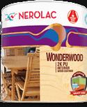 Nerolac Texture Paints Wonderwood 2K PU Interior