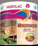 Nerolac Texture Wonderwood 2K PU Exterior