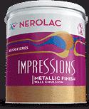 Nerolac Texture Paints Impressions Metallic Finish