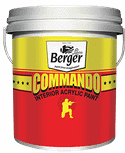 Berger Express Commando Interior Acrylic Paint