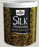 Berger Express Silk Illusions Design Metallica